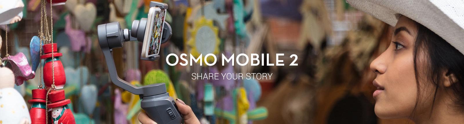advertisement - DJI Osmo Mobile 2 - Guzel.com